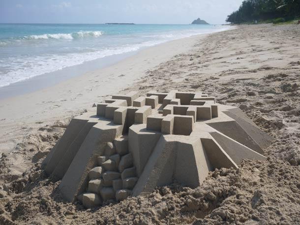 Geometric-Sand-Castles-by-Calvin-Seibert-10
