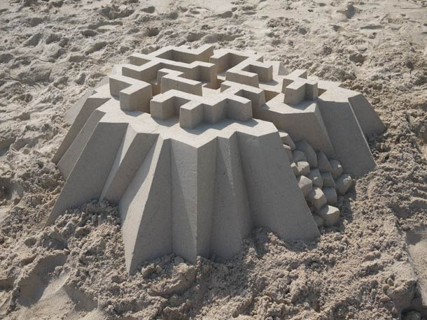 Geometric-Sand-Castles-by-Calvin-Seibert-11