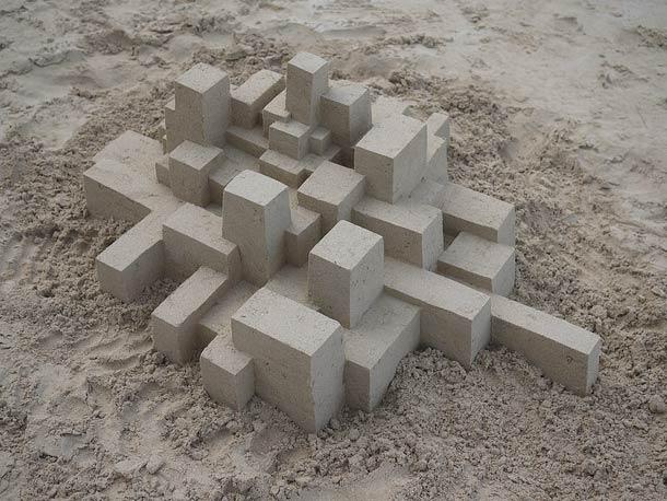 Geometric-Sand-Castles-by-Calvin-Seibert-12