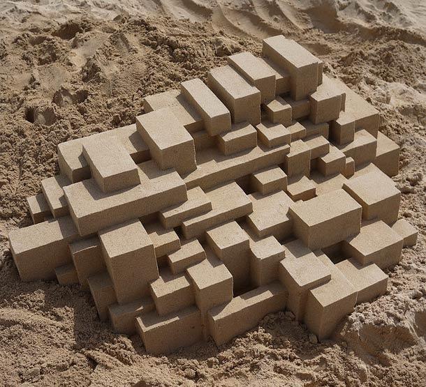Geometric-Sand-Castles-by-Calvin-Seibert-14