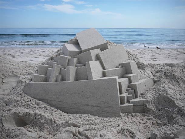 Geometric-Sand-Castles-by-Calvin-Seibert-19