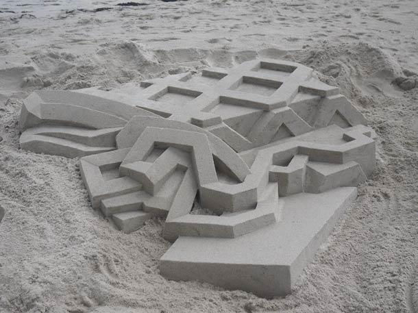 Geometric-Sand-Castles-by-Calvin-Seibert-2